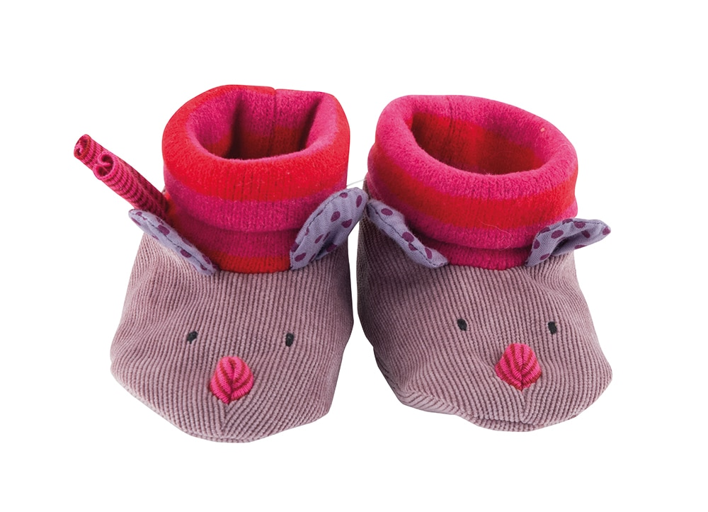 JPB - Mouse baby slippers