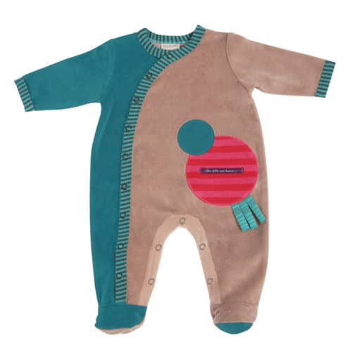JPB - Green jumpsuit 3 mths