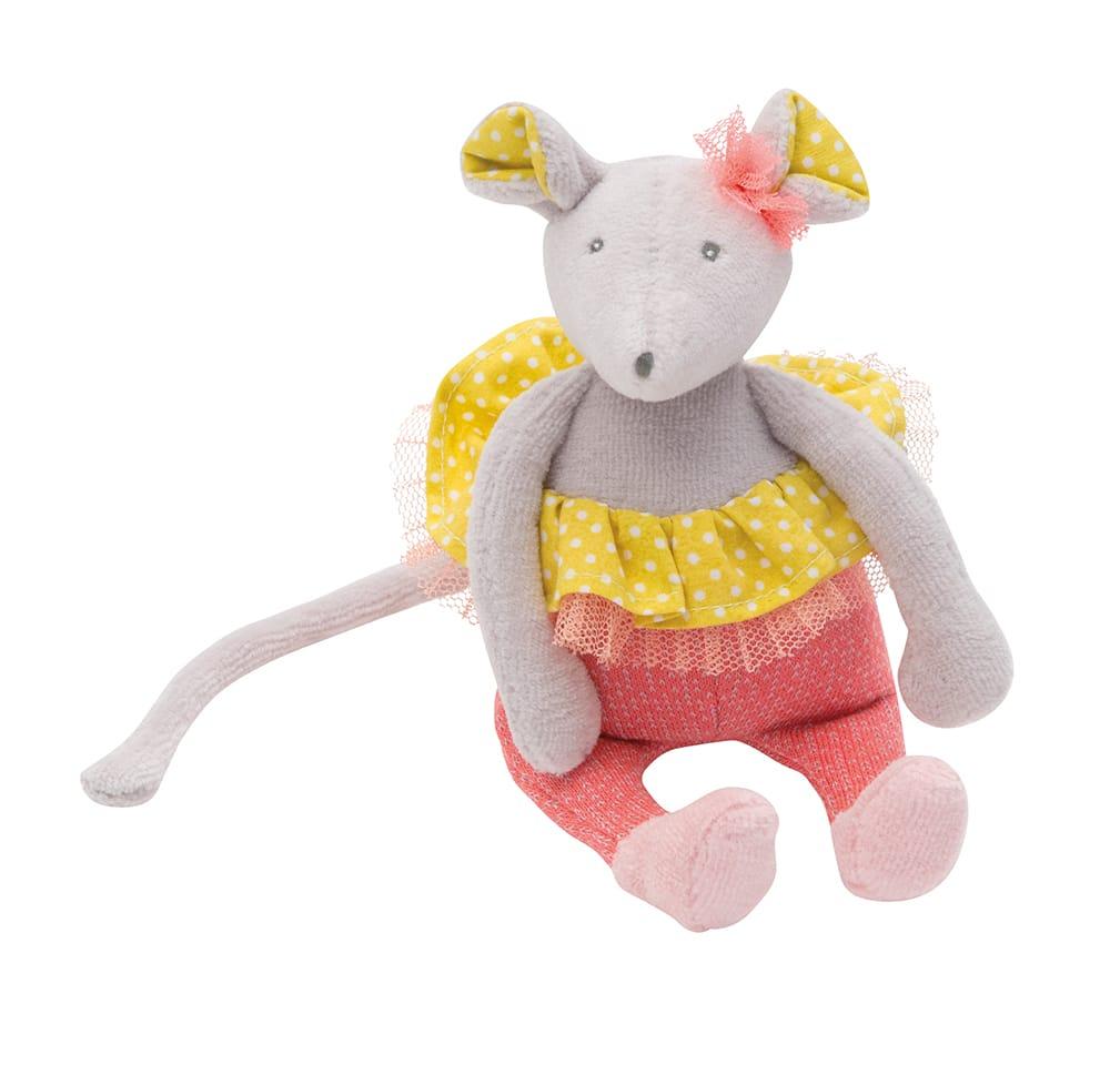 M'elle et Ribambelle - Mouse rattle