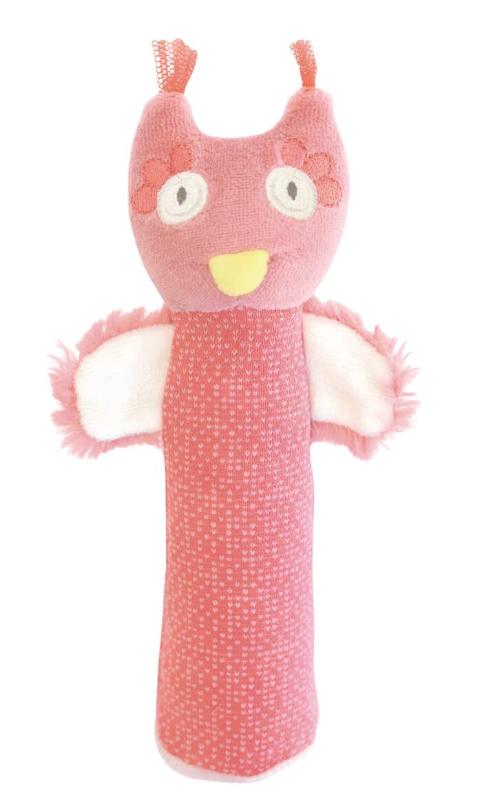 M'elle et Ribambelle - Owl squeaky toy