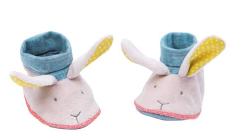 M'elle et Ribambelle - Rabbit slippers