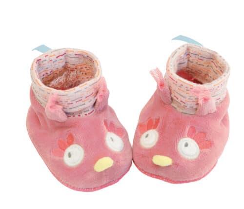 M'elle et Ribambelle - Owl slippers