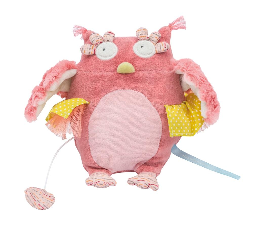 M'elle et Ribambelle - Owl doll - musical