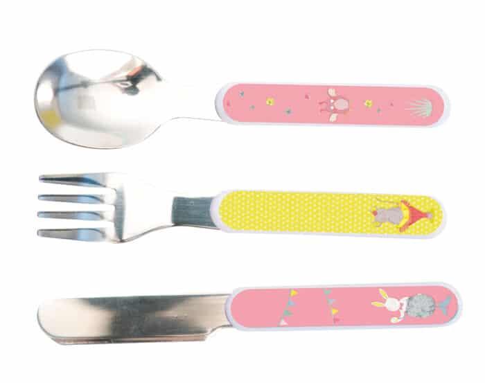 M'elle et Ribambelle - Cutlery set