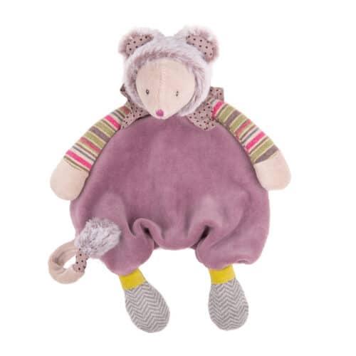 Les pachats - Purple mouse comforter