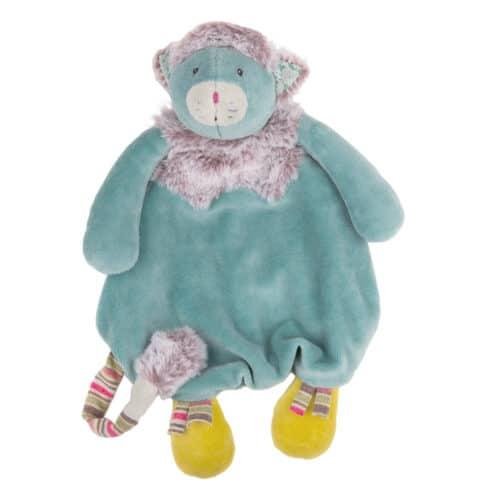 Les pachats - Blue cat comforter