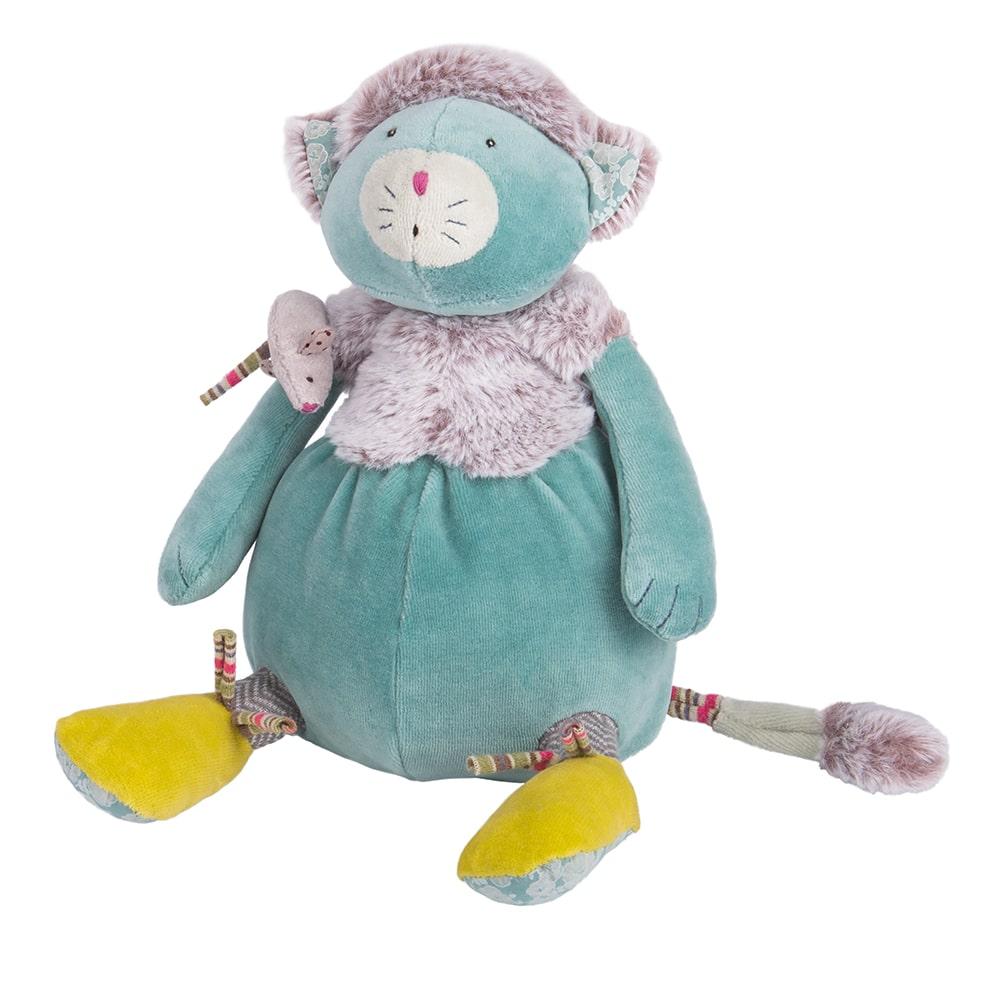 Les pachats - Blue cat doll