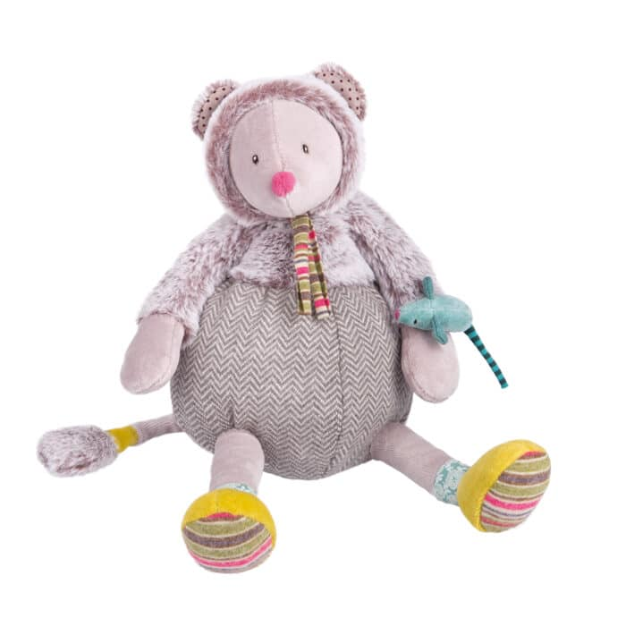 Les pachats - Grey mouse doll