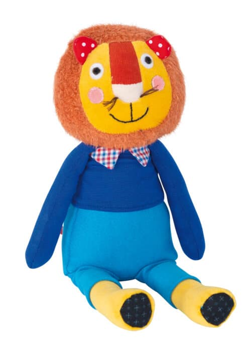 Les Popipop small lion - soft toy