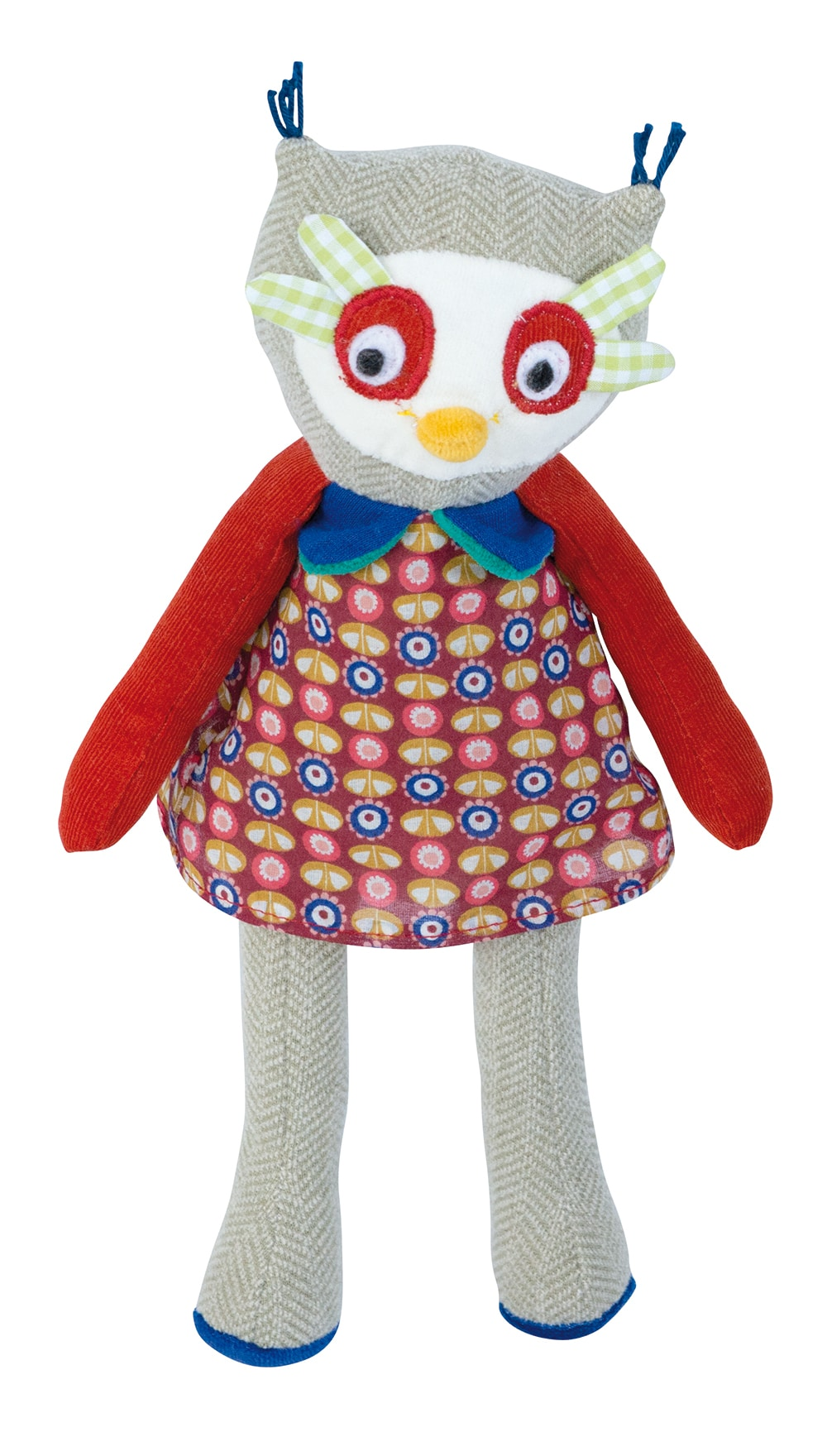 Les Popipop owl doll - soft toy