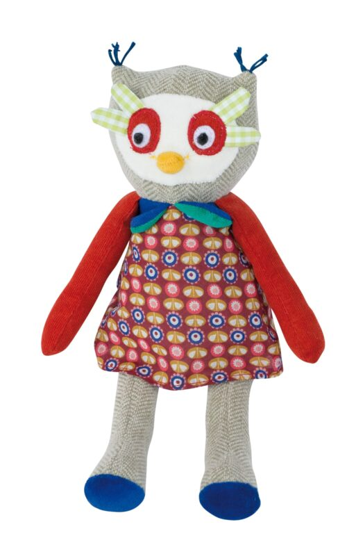 Les Popipop - Small owl doll