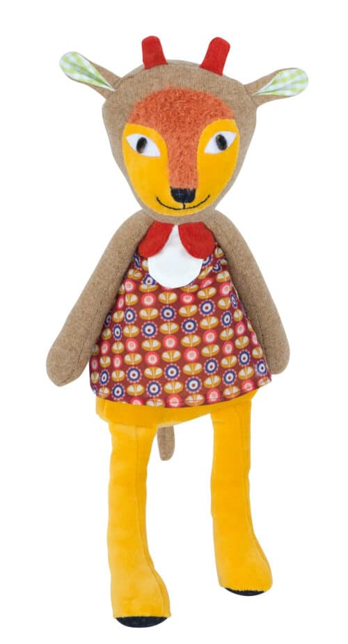Les Popipop antelope doll - soft toy