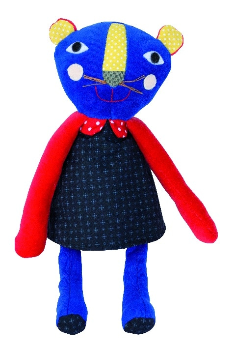 Les Popipop - Small panther doll