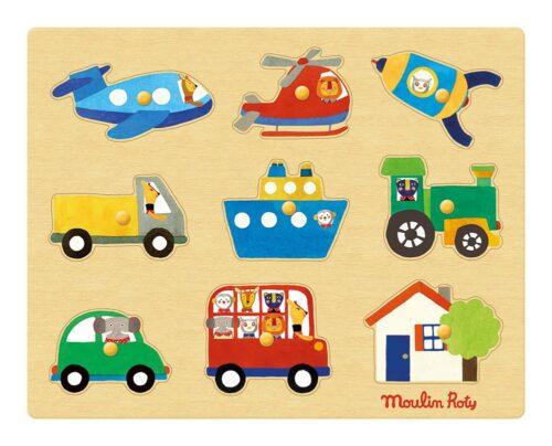 Les Popipop - Transport puzzle
