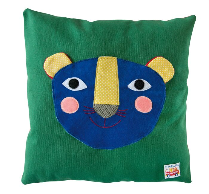 Les Popipop - Panther cushion