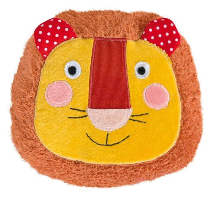 Les Popipop - Round lion cushion
