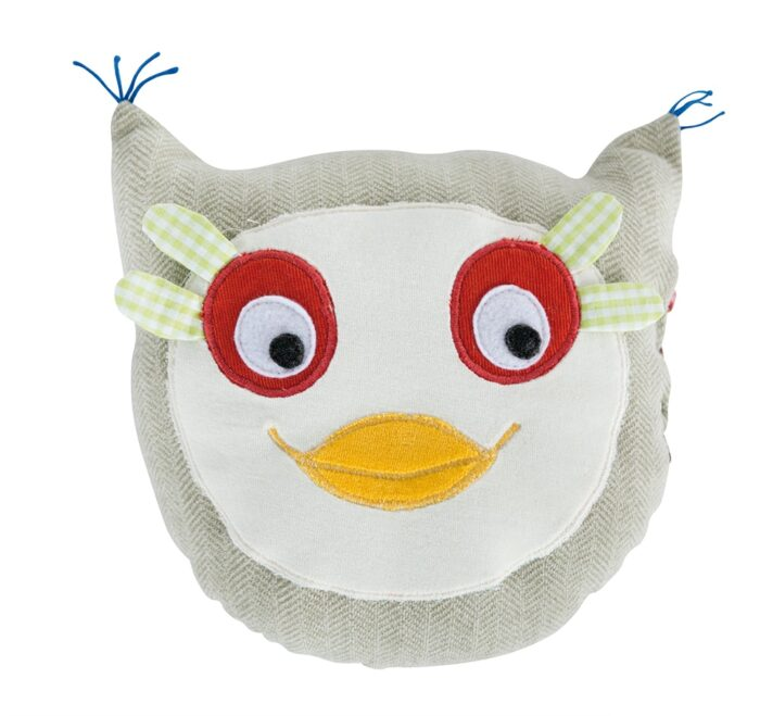 Les Popipop - Round owl cushion