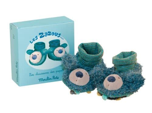 Les Zazous - Koala baby slippers