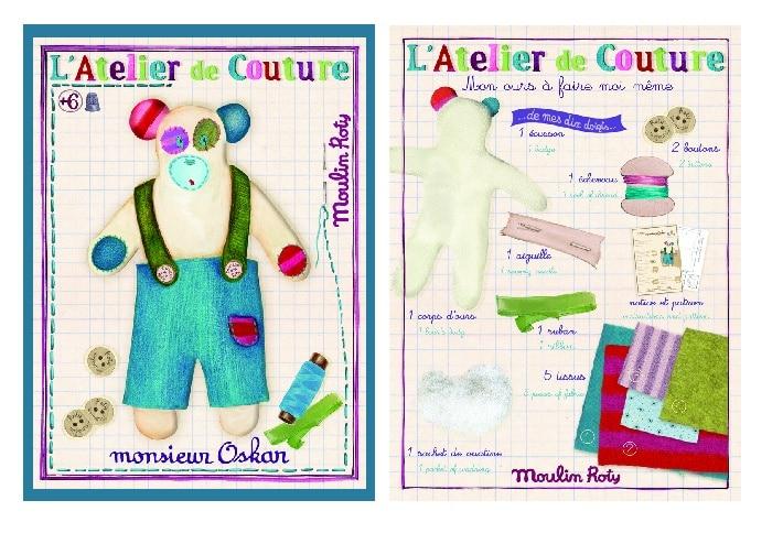 Les ateliers - M. Oskar make your own kit