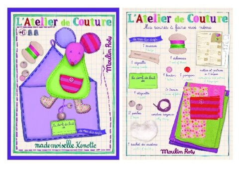 Les ateliers - M'elle Kenotte make your own kit