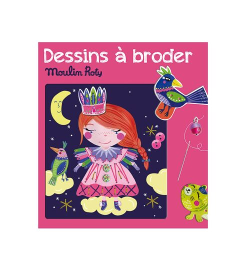 Les ateliers - Princess sewing cards
