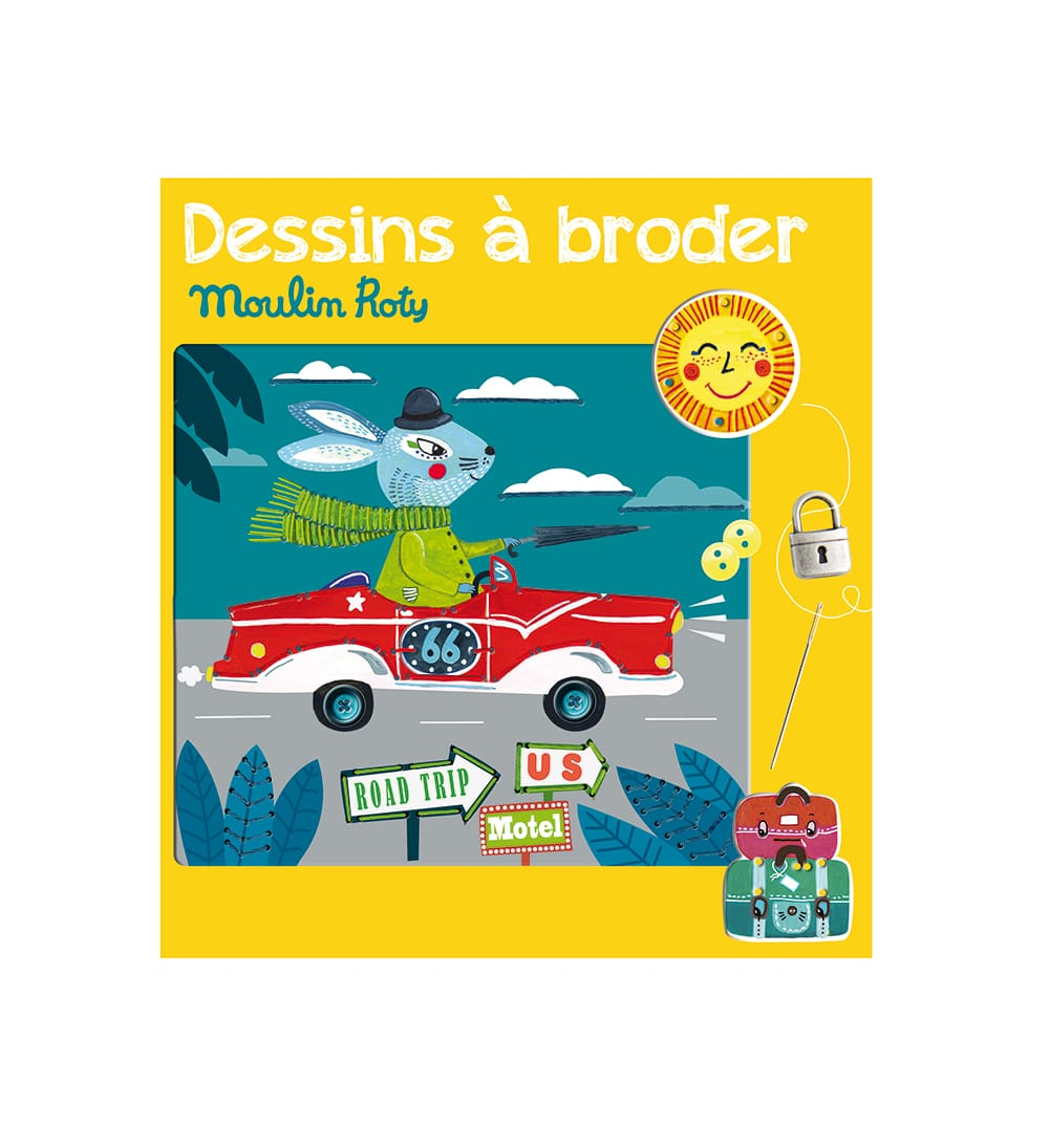 Les ateliers - Racing driver sewing cards