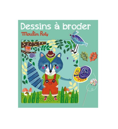 Les ateliers - Forest animals sewing cards
