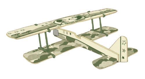 Les petites merveilles - Display of 24 assorted planes