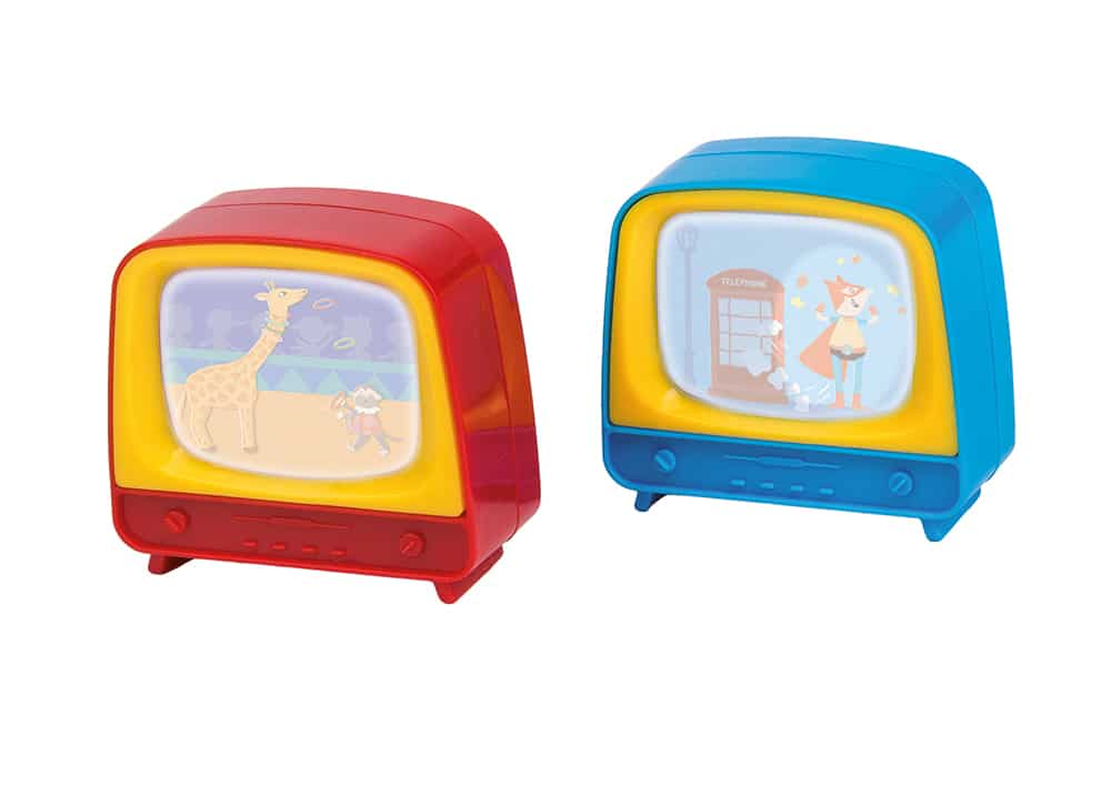 Les petites merveilles - Display of 24 assorted mini televisions