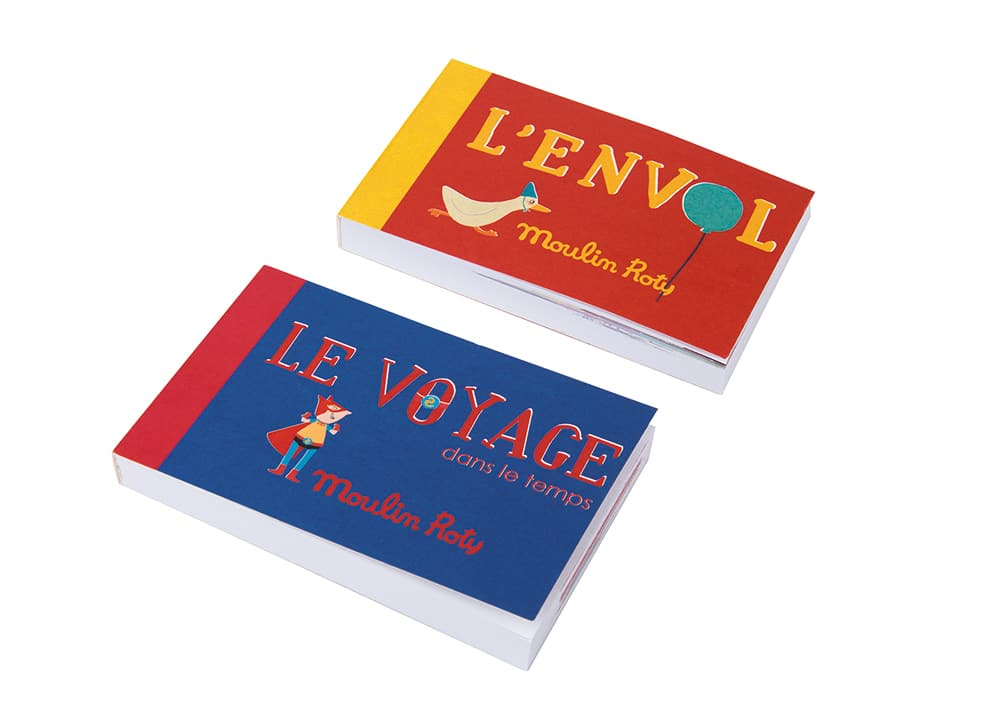 Les petites merveilles - Display of 12 assorted flipbooks