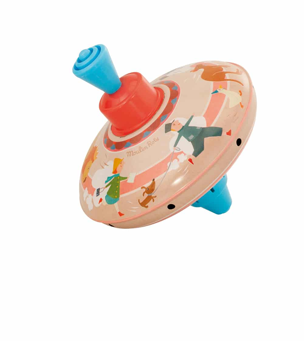 Les jouets metal - Small top - course