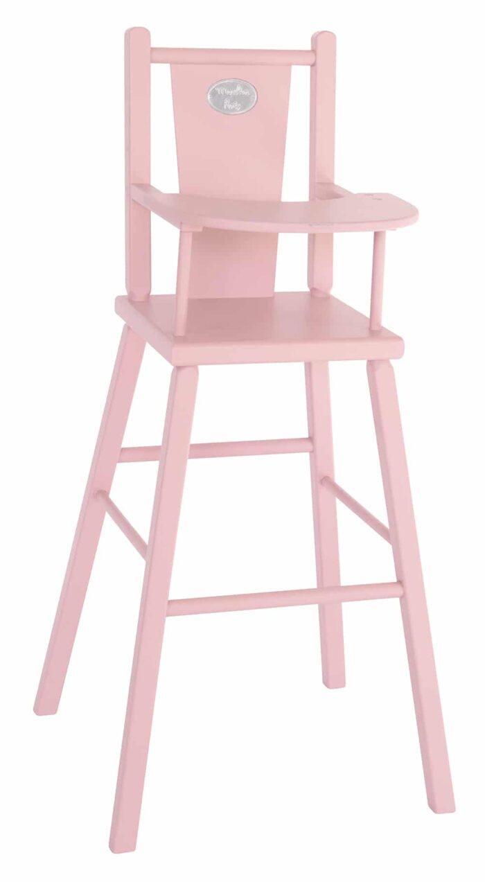 Les Coquettes - Pink highchair