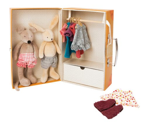 La Grande Famille - Suitcase 'Little Wardrobe'