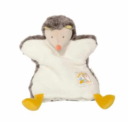 Biscotte et Pompon - hedgehog puppet comforter