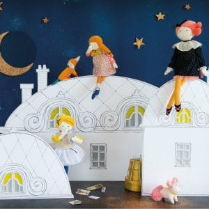Les Parisiennes soft toys and dolls - Moulin Roty toys Australia