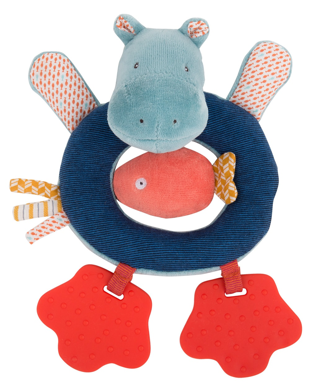 Les Papoum - Hippo ring rattle