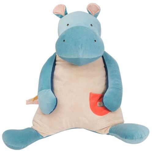 Les Papoum - Large Hippo doll