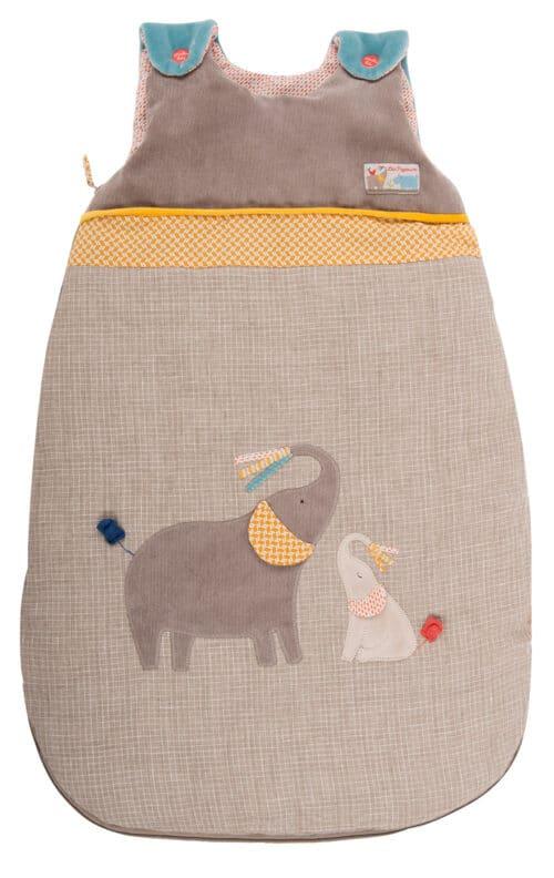 Les Papoum - Elephant sleeping bag 70 cm