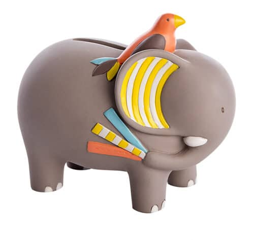 Les Papoum - Elephant money box