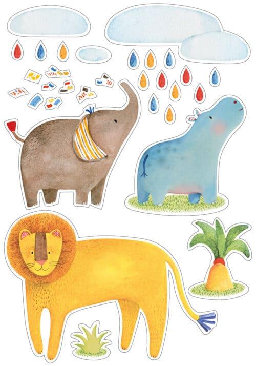 Les Papoum - Decorative stickers