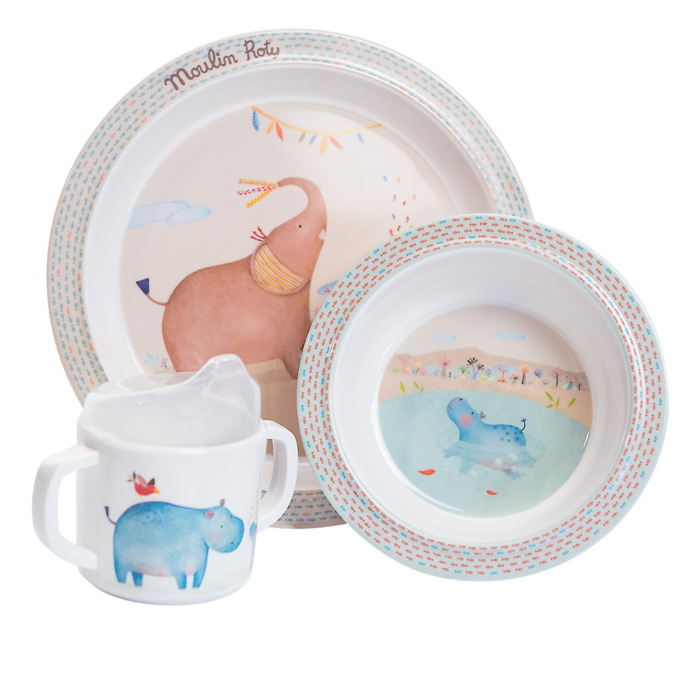 Les Papoum - Baby dish set