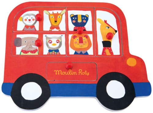 Les Popipop - Bus puzzle