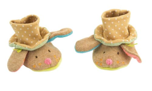 Les Tartempois - Dog baby slippers