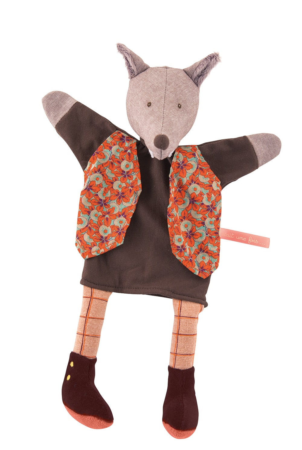 Il etait une fois - The gentleman Wolf puppet