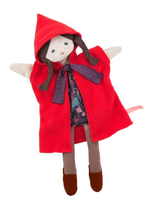 Il etait une fois - Little Red Riding Hood puppet