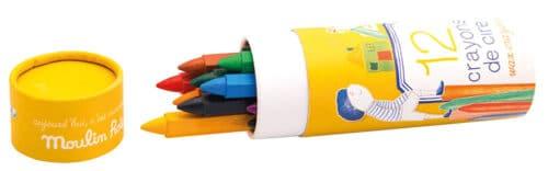 Aujouord'hui c'est mercredi - Wax crayons