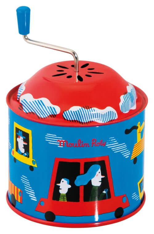 Les jouets metal - Wind up musical box (PU 8), price each