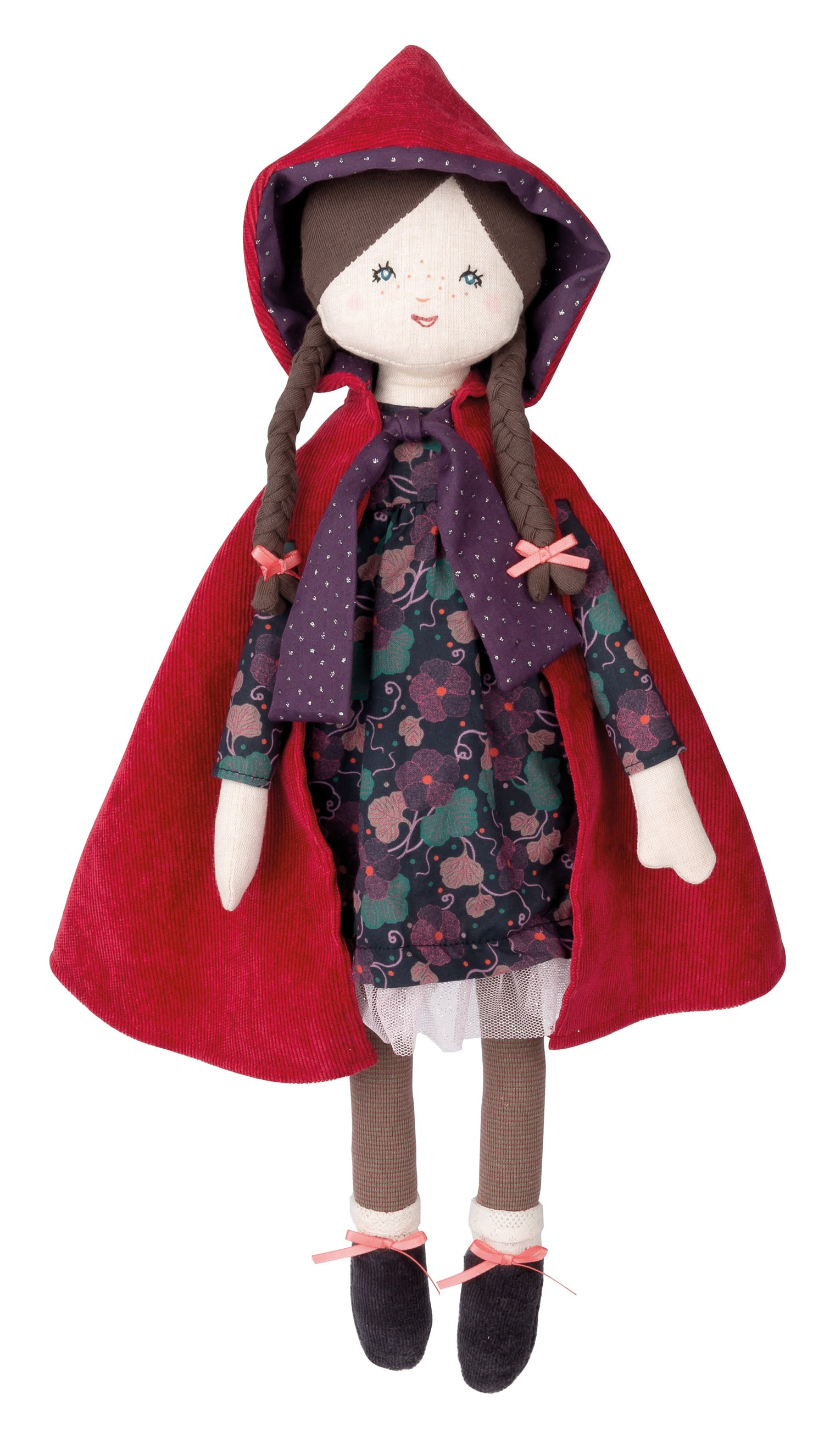 little red riding hood doll, soft toy - Moulin Roty toys Australia