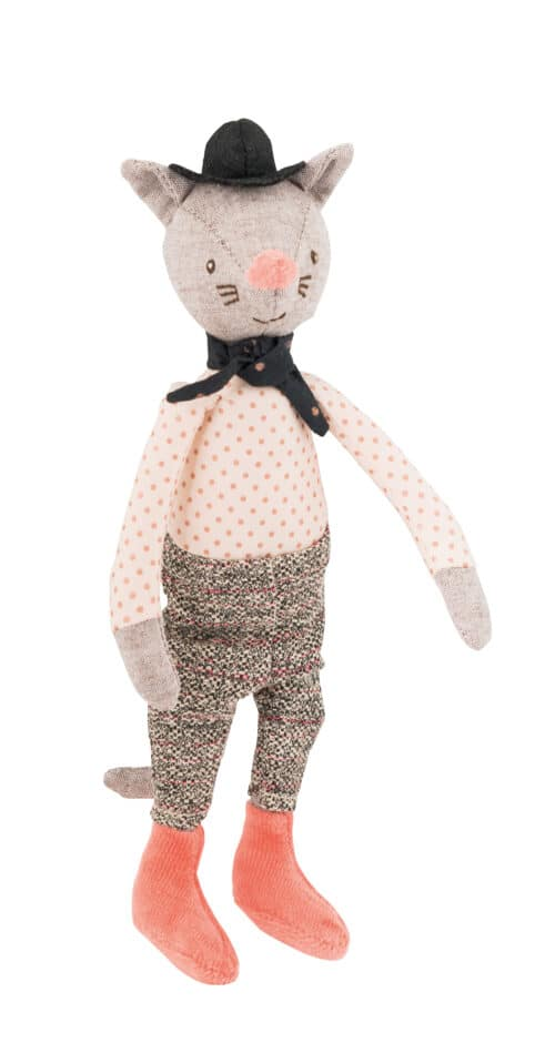 mini cat, doll, soft toys - Moulin Roty Australia