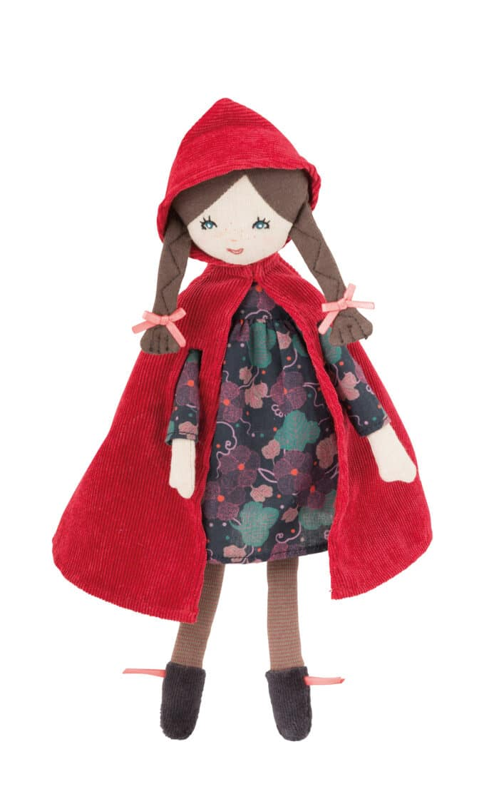 Mini little red riding hood doll - Moulin Roty toys Australia